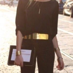 Accessories - Gold Plated Belt